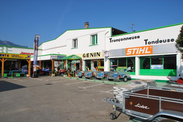 Entreprise Genin Motoculture à côté de Grenoble 38 à Gières